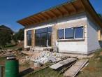 >Provedení hrubé stavby domu v pasívním provedení - Čebín